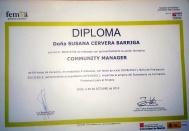 DIPLOMA CURSO COMMUNITY MANAGER