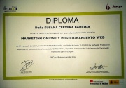 DIPLOMA MARKETING ONLINE Y POSICIONAMIENTO WEB
